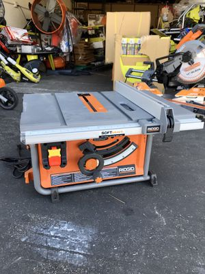 RIDGID 15 Amp 10 in. Table Saw for Sale in Garden Grove, CA