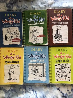 10 DIARY OF A WIMPY KID BOOKS (2 new) for Sale in Concord, CA