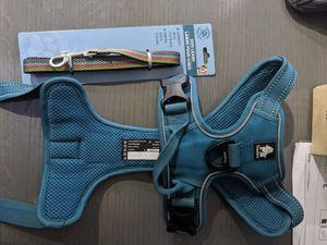 Easy Walk Dog Body Harness & Leash - Medium for Sale in Lake Villa, IL