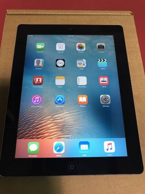 Apple iPad 2 16gb iOS 9.3.5 4G AT&T for Sale in Dallas, TX