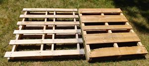 Two Wooden Skids/Pallets for Sale in Westmont, IL