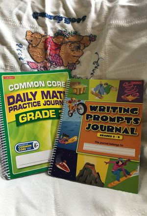 Math and writing workbook for Sale in McMechen, WV