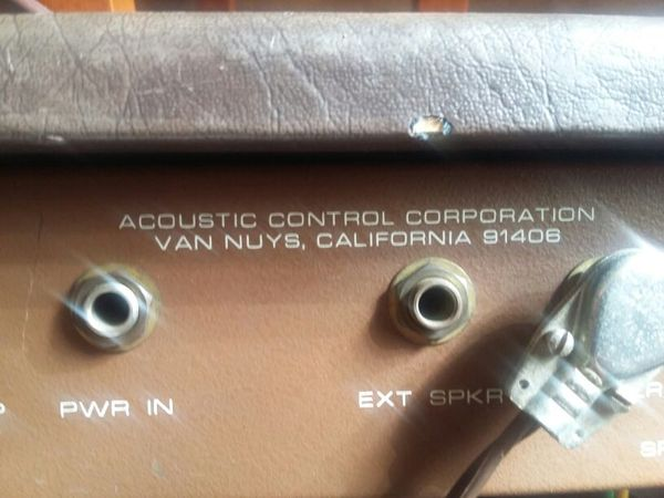 Acoustic Corporation G60T all tube amp USA