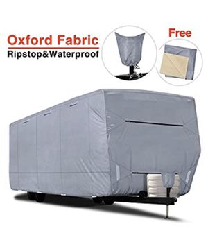"RV Cover - RVMasking Upgraded 100% Waterproof Oxford Travel Trailer RV Cover, Fits 28'7"" - 31'6"" RVs for Sale in Huntington Beach, CA"