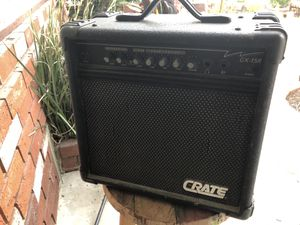 Crate 15w amp for electric guitar for Sale in Los Angeles, CA