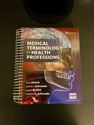 Medical Terminology for Health Professions 8th Edition for Sale in Pacifica, CA