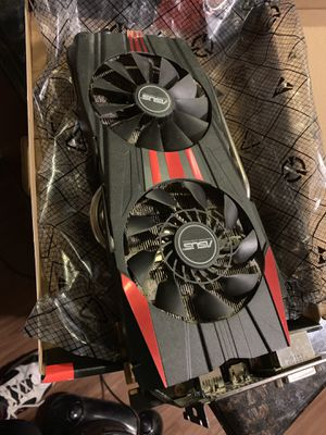 Asus 780ti 3gb graphics card for Sale in Nampa, ID