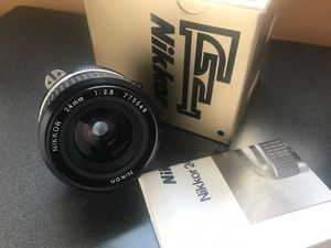 Nikkor 24mm 2.8 + box for Sale in New York, NY