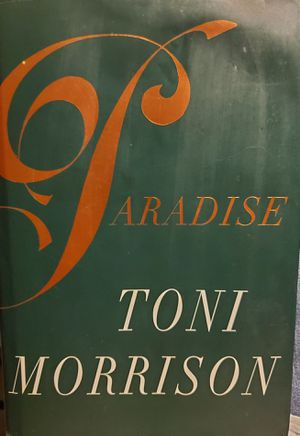 Paradise, by Toni Morrison for Sale in Colton, CA