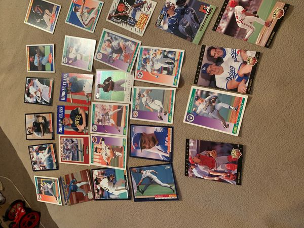 Rookie baseball cards