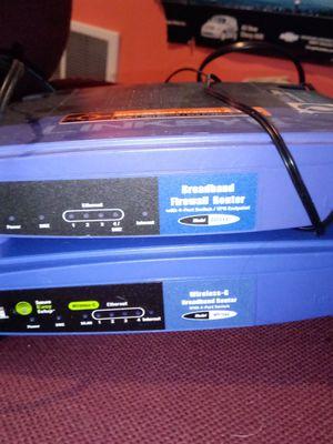 Linkeys broadbrand firewall and router for Sale in Pekin, IL