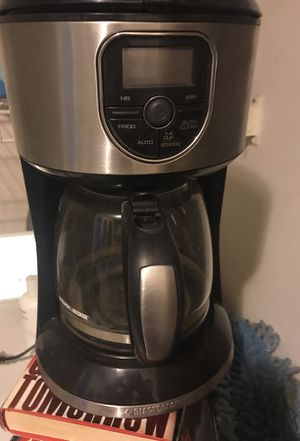 Coffee maker black and decker timer for Sale in Boston, MA