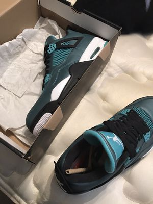 Air Jordan 4 Teal size 11.5 Brand new with box for Sale in Shaker Heights, OH