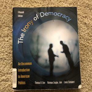 Irony of democracy for Sale in Laguna Hills, CA