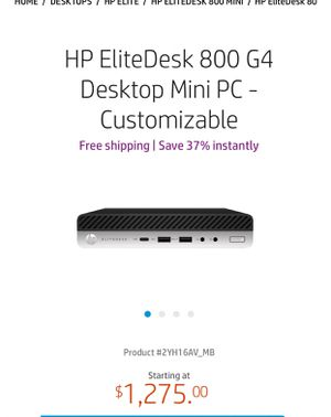 New Hp elitedesk for Sale in West Valley City, UT