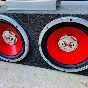 $170 No Less Firm / Sony 12s / Lanzar Amp / Sub Box for Sale in Sanger, CA