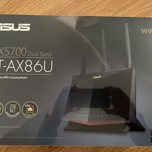 ASUS RT-AX86U AX5700 WiFi 6 Dual Band Gaming Router for Sale in Garden Grove, CA