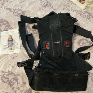 Baby Bjorn Baby Carrier One Air Black 3D Mesh for Sale in Brookline, MA