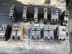 Electrical breakers (as is) for Sale in Tracy, CA