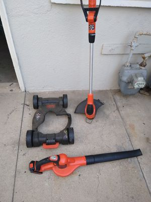 Black and Decker 3 in 1 Mower, Trimmer, Edger and Leaf Blower for Sale in Long Beach, CA