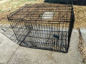 Very heavy duty animal cage with two doors up to 1/4 inch thick rods for Sale in Stockton, CA