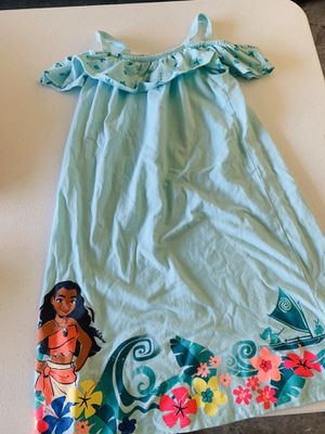Moana Disney Dress - Size 7 for Sale in Krugerville, TX