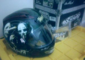 New Rockhard Medium Full Face Street Helmets Slipnot for Sale in Savannah, GA