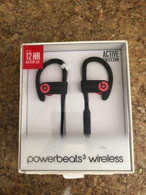 Beats Powerbeats3 Series Wireless Ear-Hook Headphones - Siren Red (MNLY2LL/A) for Sale in El Monte, CA
