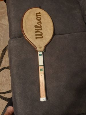 80's wooden tennis racket for Sale in Houston, TX