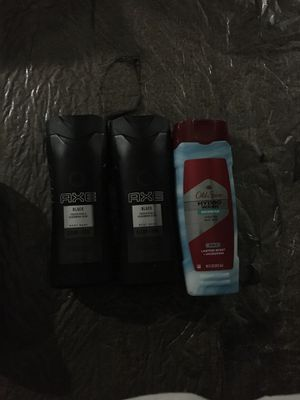 Axe body wash,and old spice body wash for Sale in Las Vegas, NV