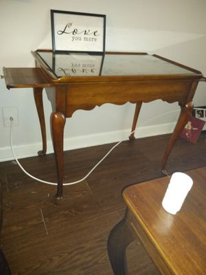 Antique glass top table for Sale in Austin, TX