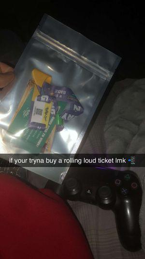 Rolling Loud LA Ticket for Sale in Fresno, CA