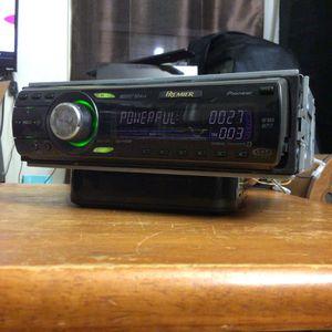 Pioneer Premier Deh-p480mp Cd Car Stereo w/ rear aux input for Sale in Redondo Beach, CA