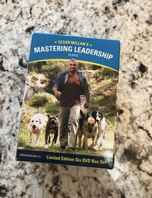 Cesar Millan's Mastering Leadership 6 DVDs for Sale in Boca Raton, FL