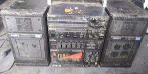 Vintage sony fh-3 stereo system boombox for Sale in Virginia Beach, VA