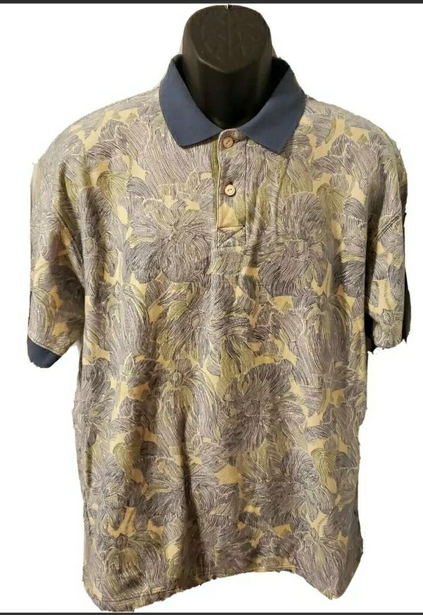 Pendleton Hawaiian Polo Shirt