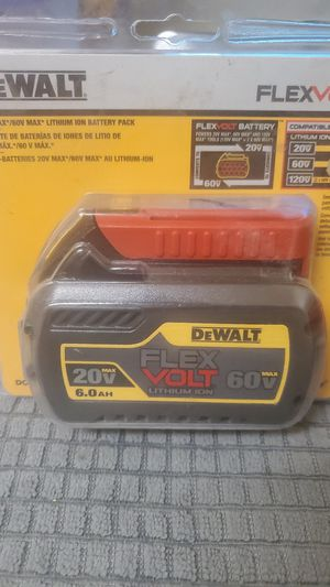 60 volt dewalt for Sale in Phoenix, AZ