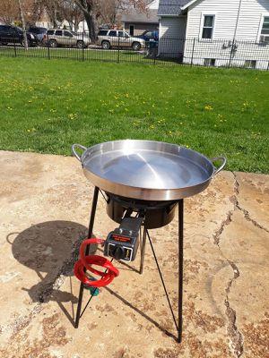 Comal de bola de acero inoxidable para tacos de carne asada o al pastor for Sale in Aurora, IL