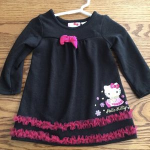 Black and Pink hello kitty dress, 12month for Sale in Indianapolis, IN