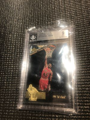 Micheal Jordan Basketball Card 🔥 for Sale in Manvel, TX