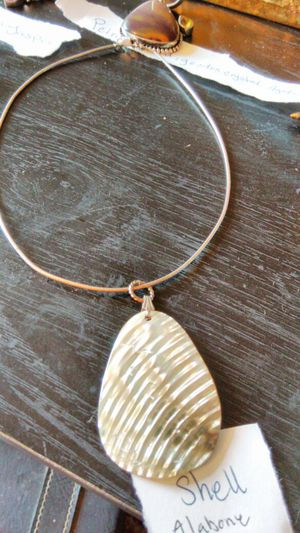 Sterling and shell necklace for Sale in Austin, TX