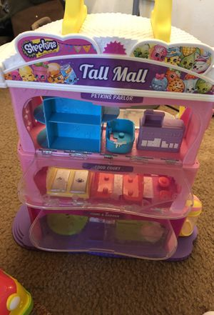 Shopkins tall mall for Sale in Imperial, MO