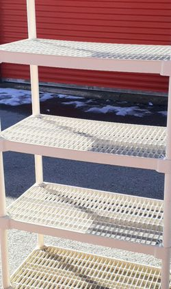 6ft X 3ft Plastic Shelving for Sale in Columbus,  OH