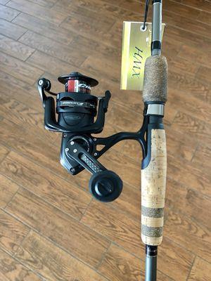 New Penn Conflict II 2500 Reel on a New Fenwick HMX Fishing Rod for Sale in Trinity, FL