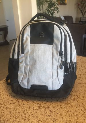 "SWISS GEAR AIR FLOW BACKPACK 19"" Laptop Bag Lots of Pockets Black Gray Computer Carry-On / Brand New ( Porter Ranch Ca) for Sale in Porter Ranch, CA"