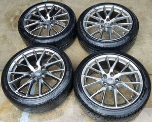 "2011 - 2014 INFINITI G37 Q60 IPL 19""INCH WHEEL RIM W/TIRE (SET OF 4) for Sale in Fort Lauderdale, FL"