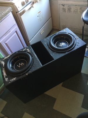 Q bomb box for 12's BOX ONLY BOX ONLY for Sale in West Palm Beach, FL