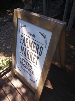Tall folding farmer market sign MUST SEE for Sale in Atlanta, GA