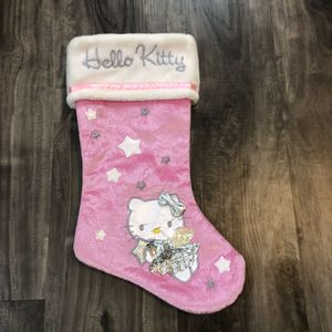 Pink Hello Kitty Stocking Christmas Sock for Sale in Carrollton, TX