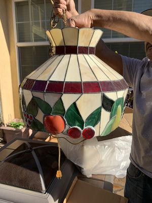 Fruit Glass Stained Lamp for Sale in San Diego, CA